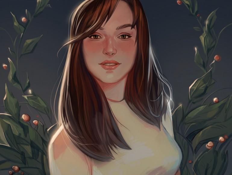 Adriana Bahna's portrait