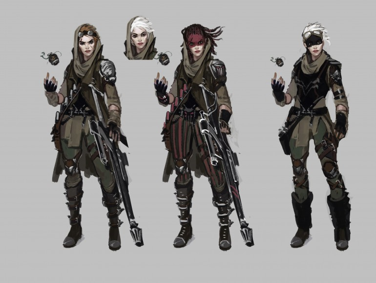 Hunter concepts