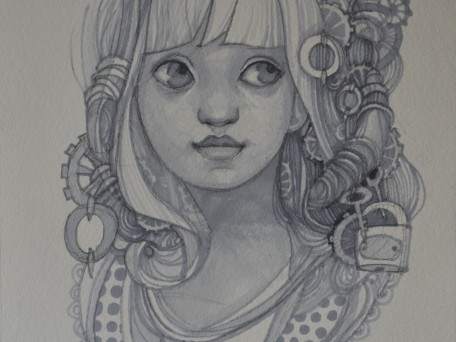 portret decorativ