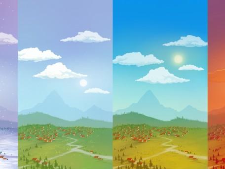 Background seasons all