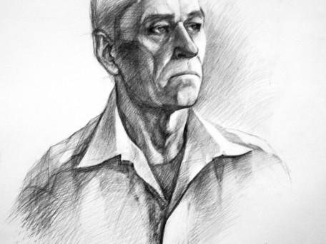 portret de bătrîn