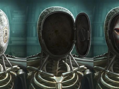Сцена 65 ZOOM скелет