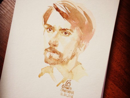 Portrait of my husband