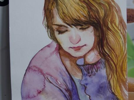 Portrait of sister
