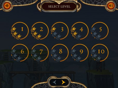 Select game level UI 2