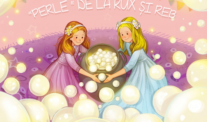 A book for children about 2 little girls