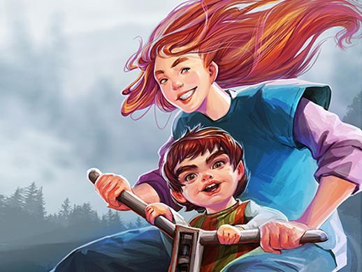 Ilustrație despre copilărie